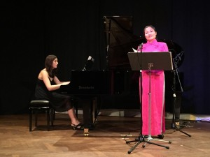 Mariana Popova und Lini Gong