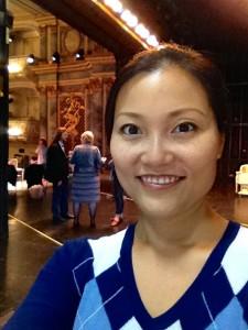 Probe beim Schwetzinger Festspiele 2015